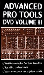 Advanced Pro Tools DVD, Volume III - DVD-ROM Sheet Music