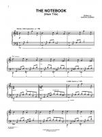 The Notebook (Main Title) (from The Notebook) - Sheet Music Sheet Music