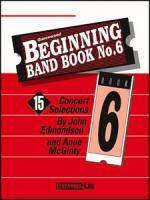 Beginning Band Book No. 6 - Conductor / CD Sheet Music