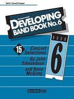 Developing Band Book No. 6 - 2nd B - flat Cornet Sheet Music