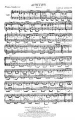 Activity - CONDENSED SCORE Sheet Music
