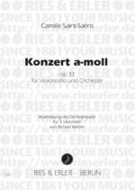 Konzert In A Minor - Opus 33 Sheet Music