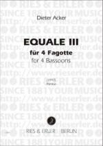 Equal III Sheet Music