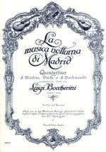 La Musica Notturna Di Madrid - Quintetto Sheet Music