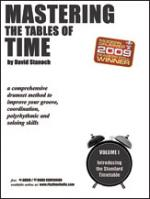 Mastering The Tables Of Time, Volume 1: Introducing The Standard Timetable (A Comprehensive Drumset  Sheet Music