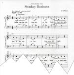 Monkey Business Sheet Music Sheet Music