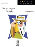 Secret Agent Boogie Sheet Music Sheet Music