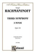 Third Symphony In A Minor, Opus 44 Sheet Music