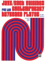 Jazz/Rock Voicings for the Contemporary Keyboard Player - Book Sheet Music