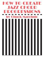 How to Create Jazz Chord Progressions - Book Sheet Music