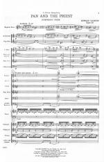 Pan And The Priest - Opus 26 FULL SCORE - STUDY Sheet Music
