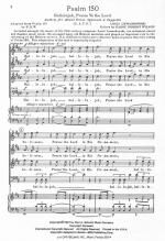 Psalm 150 (Hallelujah, Praise Ye The Lord) Sheet Music - Choral Octavo Sheet Music