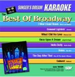 The Best Of Broadway - Karaoke CDG (Audio+Graphics) Sheet Music