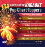 Pop Chart-Toppers - Karaoke CDG (Audio+Graphics) Sheet Music