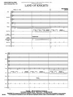 Land Of Knights (Score and Complete Set of Parts) Sheet Music