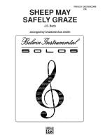 Sheep May Safely Graze Sheet Music