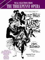 The Threepenny Opera: Vocal Selections - Book Sheet Music