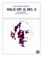 Vals, Opus 8, No. 3 - Sheet Music Sheet Music