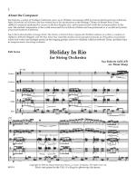 Holiday In Rio - Score Sheet Music