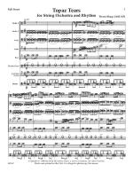 Topaz Tears For String Orchestra And Rhythm A Rock Ballad Sheet Music