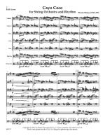 Cayo Coco For String Orchestra And Rhythm Sheet Music
