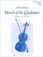 March Of The Gladiators For Strings And Percussion Sheet Music