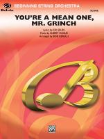 You're A Mean One, Mr. Grinch - Conductor Score Sheet Music