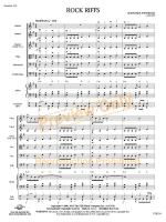 Rock Riffs (Score and Complete Set of Parts) Sheet Music