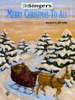 Merry Christmas to All - Book Sheet Music