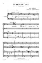 Season of Love Sheet Music - Choral Octavo Sheet Music
