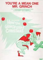 You're A Mean One, Mr. Grinch - Sheet Music Sheet Music