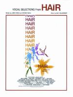 Hair: Vocal Selections - Book Sheet Music