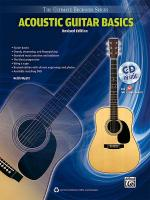 Ultimate Beginner Series: Acoustic Guitar Basics (Revised Edition) - Book & CD Sheet Music