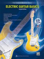 Ultimate Beginner Series: Electric Guitar Basics (Revised Edition) - Book & CD Sheet Music