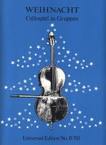 Christmas Carols, 2 Or 3 Cello Sheet Music