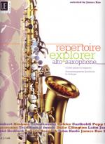 Repertoire Explorer - Alto Saxophone Sheet Music