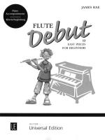 Flute Debut - Piano Accompaniments - 12 Easy Pieces For Beginners Sheet Music