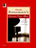 Nicolai Podgornov's Romantic Piano Album - Includes: Can You Feel The Love Tonight, La Valse D'am Sheet Music