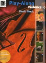 Play Along Violoncello Mit CD Sheet Music