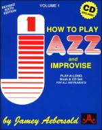 Volume 1 - How To Play Jazz & Improvise Sheet Music