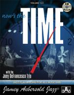 Volume 123 - NOW'S THE TIME: Standards with the Joey DeFrancesco Trio Sheet Music