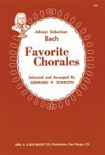 Bach Favorite Chorales Sheet Music Sheet Music