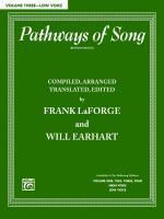 Pathways Of Song, Volume 3 - Book Sheet Music