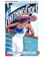 Anything Goes (Revival Edition): Vocal Selections - Book Sheet Music