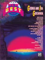 The New Best of George and Ira Gershwin - Book Sheet Music