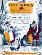 Folk Songs Of England, Ireland, Scotland & Wales - Book Sheet Music