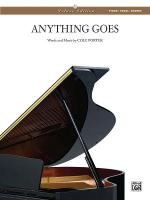 Anything Goes - Sheet Music Sheet Music