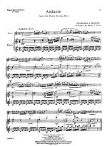 Andante - SOLO PART WITH PIANO REDUCTION Sheet Music