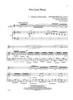 Give Lyric Pieces - SOLO PART WITH PIANO REDUCTION Sheet Music