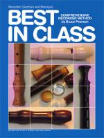 Best In Class Recorder Method, German And Baroque Sheet Music
